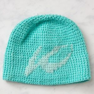 Accessories - Like new - blue winter hat / beanie for women.